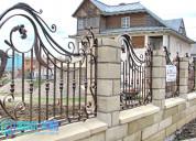 Luxury classic wrought iron fence panels