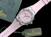 Ap royal oak watch chanel pink watch 2022