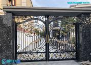 Luxury wrought iron gates