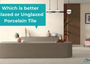 Why choose glazed porcelain tiles flooring - neels