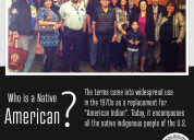 Who is a native american?