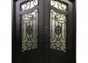 Oem exterior and interior wrought iron doors
