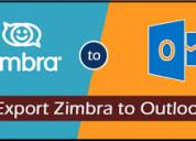 Zimbra to pst recuperation software