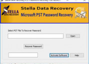 Stella pst fast password recovery tool